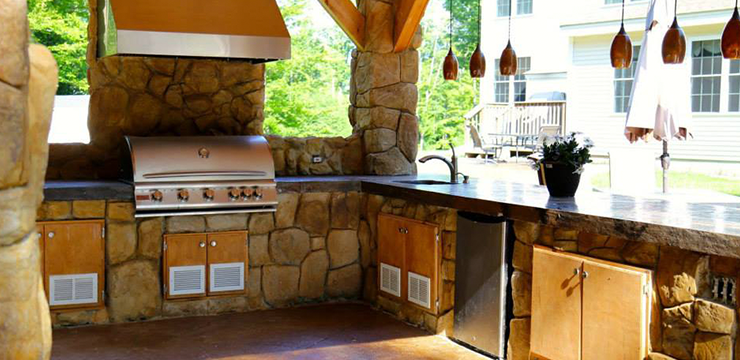 Custom Outdoor Kitchens Bbq Islands Designs Around Victor
